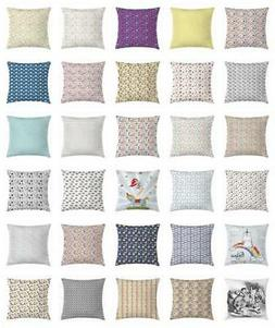 Toddler Throw Pillow Cases Cushion Covers by Ambesonne Home