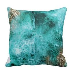 Gary S.Shop Turquoise, Brown and White Exotic Cowhide Home D
