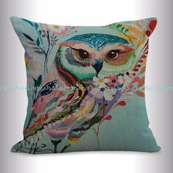 US SELLER, decorative pillows for living room colorful anima
