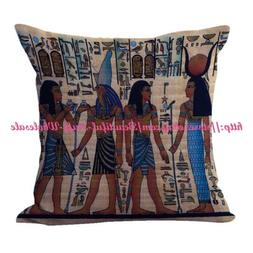 US SELLER- throw pillows for couch Ancient Egyptian cushion