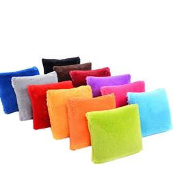 Velvet Cushions Cover Fluffy <font><b>Pillow</b></font> Deco