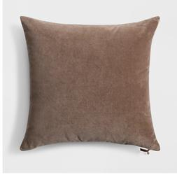 Velvet with Zipper Square Throw Pillow - Threshold™