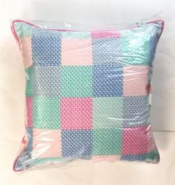 Vineyard Vines Target Patchwork Whale Throw Pillow 20 x 20 P
