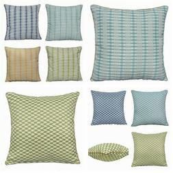 "22x22"" Multi-Color Premium Plaid Throw PILLOW COVER Sofa Bed"