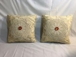 Handmade Vintage Throw Pillow Covers