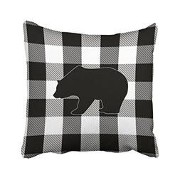 Shorping Zippered Pillow Covers Pillowcases 16X16 Inch black